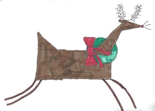 WTW card designs 2014 Rudolph wreath
